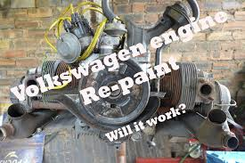 volkswagen beetle engine volkswagen beetle engine re paint youtube