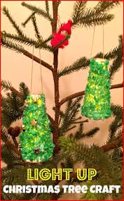 light up christmas tree craft trees crafts and christmas tree