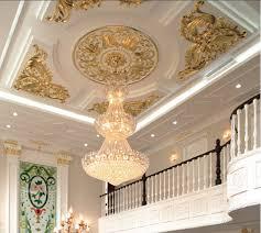 roof decoration plaster of paris interior roof decoration designs chinese hot sale