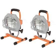 hdx portable halogen work light hdx 509 953 500 watt halogen light work spotlight portable
