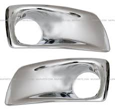 kenworth replacement parts amazon com kenworth t660 bumper auxiliary light bezel chrome pair