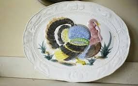 ceramic turkey platter vintage ceramic turkey platter what s it worth