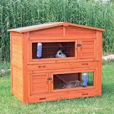 Advantek Stilt House Rabbit Hutch Trixie 2 Story Rabbit Hutch With Attic Large Hayneedle