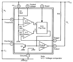 monostable multivibrator 555 wiring diagram components