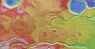floods in mangala valles via mars express orbiter