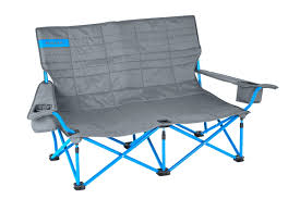 Low Back Beach Chair Low Love Seat 2 Person Folding Camp Chair Kelty
