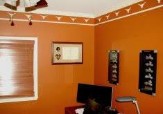 orange color paint home design inspiration