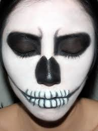 fotd halloween skeleton makeup look makeup for life
