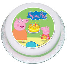 edible cake decorations peppa pig edible cake decorations
