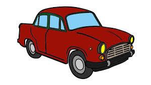car coloring pages and drawing learning how to paint with