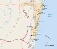 south carolina beaches map myrtle map myrtle south carolina