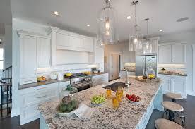 grande cuisine moderne grande cuisine design cuisine ouverte en bois et en marbre de la