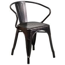 Dining Chair Set Of 4 Escondido Modern Dining Chair Set Of 4 Antique Black Gold