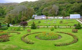 victorian garden walls kylemore abbey garden fasci garden