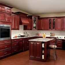 Refinish Oak Kitchen Cabinets by How To Refinish Stained Wood Kitchen Cabinets Modern White L Shape