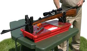 Portable Bench Rest Shooting Stand Gun Maintenance Centers By Mtm Make It Your Gun Cleaning Kit