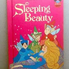 1974 sleeping beauty vintage disney book vintagewoods