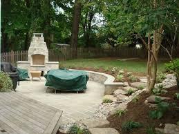 Backyard Space Ideas Triyae Com U003d Backyard Patio Ideas For Small Spaces Various