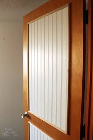 How To Make Wainscoting With Moulding How To Add Molding Panels To A Flat Door Pretty Handy