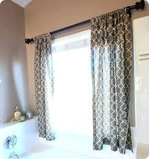 Bathroom Decor Target by Bathroom Curtains Window Treatmentsidea For Curtains On Our