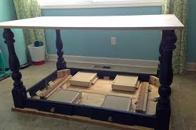 pre turned table legs kitchen island table legs new remodelaholic