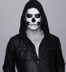 Skeleton Costume Halloween Male Skeleton Makeup Diy Costumes Male Skeleton