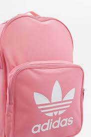 adidas classic trefoil backpack light pink pink adidas backpack cg backpacks