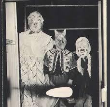 Creepiest Halloween Costumes 69 Creepy Halloween Photos Images Vintage