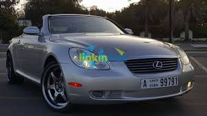 lexus dubai uae lexus sc430 v8 model 2004 used cars dubai classified ads job
