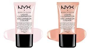 amazon com 2 nyx born to glow liquid illuminator full set