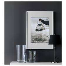 Mounting Posters Without Frames Ribba Frame White 50x70 Cm Ikea