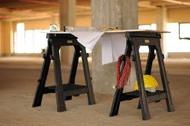 stanley folding work table the best folding sawhorse in 2017 all things folding