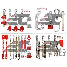Cheif Wall Mount 128 619204 Deluxe Chain And Clamping Package With Wall Mount