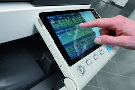 konica minolta bizhub c284e colour copier printer scanner