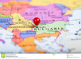 Map Of Bulgaria Red Push Pin On Map Of Bulgaria Stock Photo Image 47255359