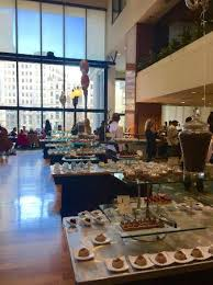 Langham Hotel Chocolate Buffet by Chocolate Bar Picture Of Cafe Fleuri Boston Tripadvisor