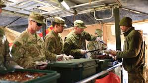 deployed u s troops take time to observe thanksgiving duluth