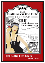 roaring 20s printable party invitation did this theme for my