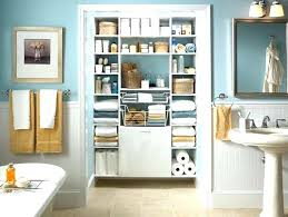 small bathroom closet ideas bathroom cabinet storage ideas robys co