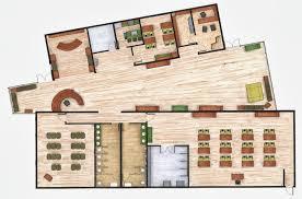 interior design student portfolio community center