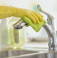 cleaning kitchen faucet how to clean your house to avoid the flu martha stewart