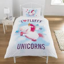 Tesco Bedding Duvet Tesco Direct Despicable Me Minions Rush Fluffy Unicorn Single