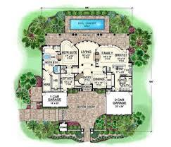 2 family house plans corleone courtyard house plan estate house plan