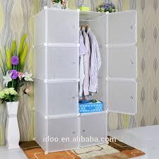 diy garderobe bedroom furniture simple wardrobe 8 cubes white color diy