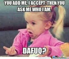 Facebook Friends Meme - facebook friend requests by bilal darwich meme center
