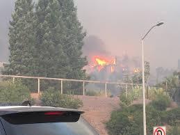 California Wildfire Smoke Map by Santarosafire Crews On Way So Many Blazes Homes Burning Smoke