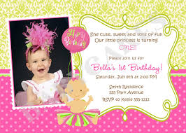 Homemade Birthday Invitation Cards 1st Birthday Party Card Wording Image Inspiration Of Cake And
