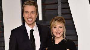 Dax Shepard Kristen Bell Shares Throwback Wedding Pic Of Dax Shepard Laughing