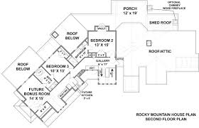 mountain house plans rear view home design rocky lodge plan mountain house plans rear view home design rocky lodge plan