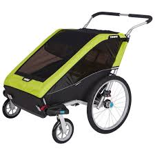 siege pour remorque velo poussette remorque de vélo cheetah xt 2 de thule bébés à petits